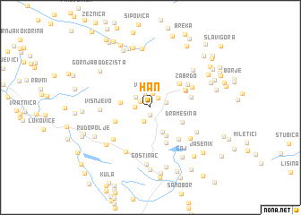 map of Han