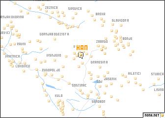 map of Han