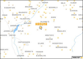map of Haouma