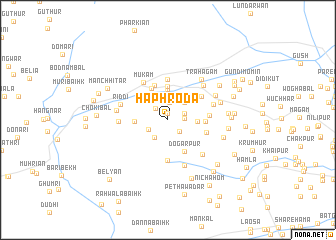 map of Haphroda