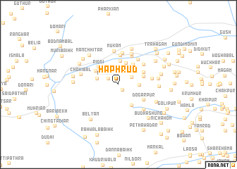 map of Haphrud