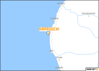 map of Haraguchi