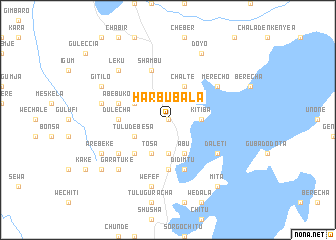 map of Harbu Bala