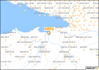 map of Hard