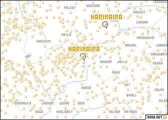 map of Hari Maira