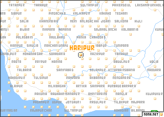 map of Haripur