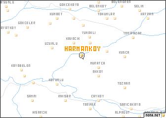 Harmanky Turkey map nonanet