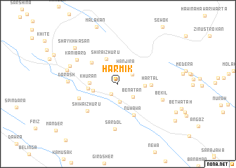 map of Harmik