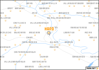 map of Haro