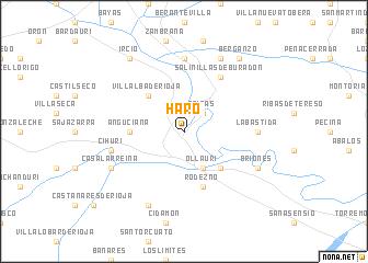 map of Haro