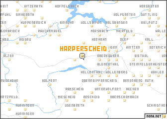 map of Harperscheid