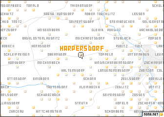 map of Harpersdorf
