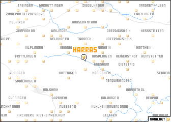 map of Harras