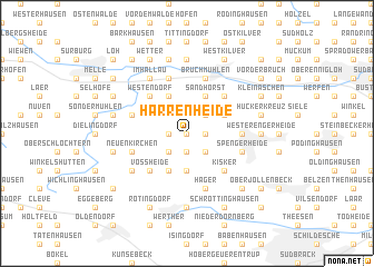 map of Harrenheide