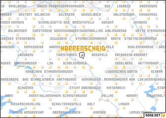 map of Harrenscheid