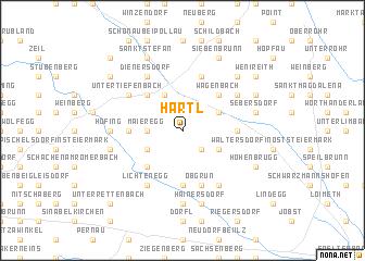 map of Hartl