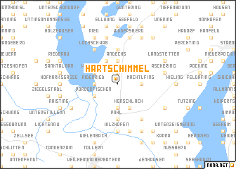 map of Hartschimmel