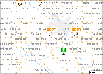map of Hart