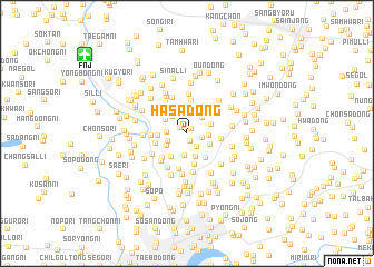 map of Hasa-dong