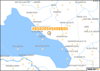 map of Ḩasan ash Shabbāḩ