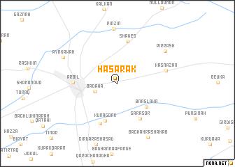 map of Hasārak