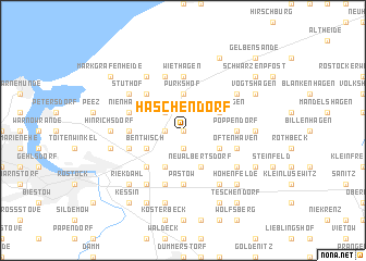 map of Häschendorf