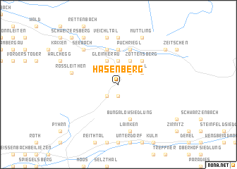 map of Hasenberg