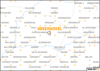 map of Hasenwinkel