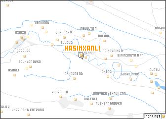 map of Haşımxanlı