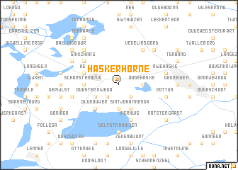 map of Haskerhorne