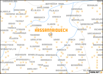 map of Hassannaïouech