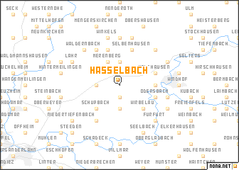 map of Hasselbach