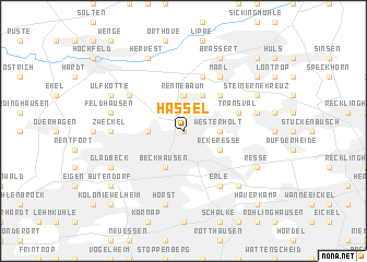 map of Hassel