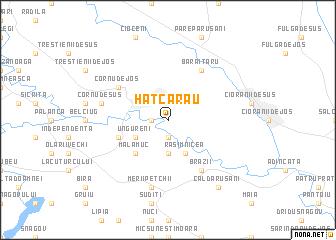 map of Hătcărău