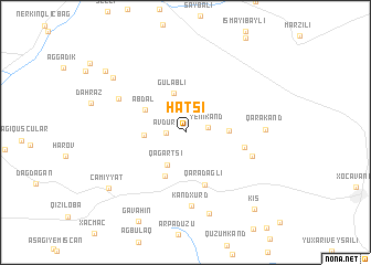 map of Hatsi