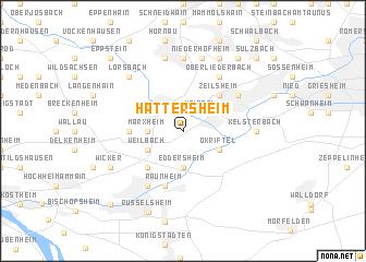 map of Hattersheim