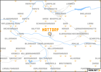 map of Hattorf