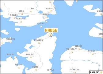 map of Hauge