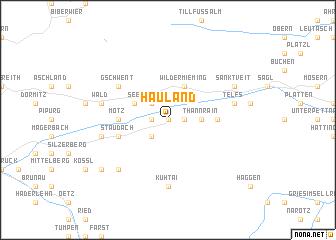 map of Hauland