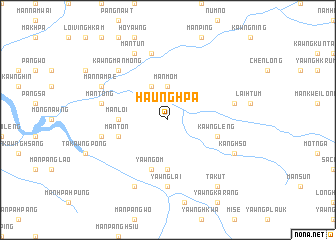 map of Haunghpa