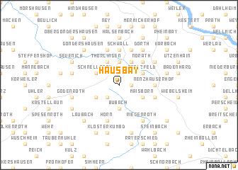 map of Hausbay