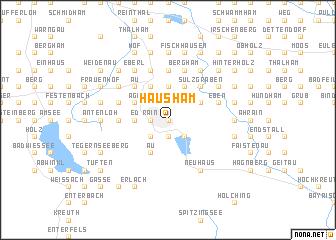 map of Hausham