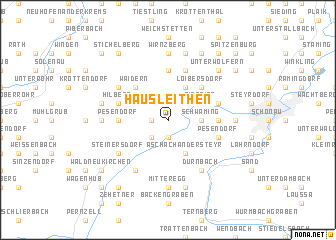 map of Hausleithen