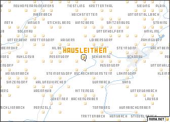 map of Hausleithen