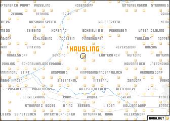 map of Häusling