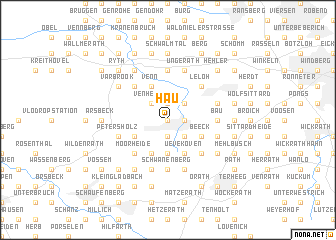 map of Hau