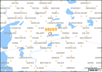 map of Häven