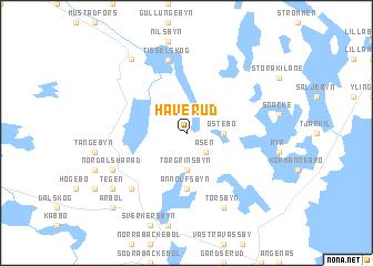 map of Håverud