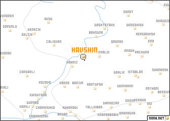 map of Havshin