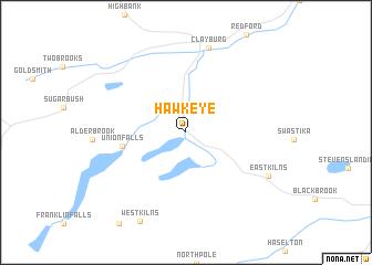 map of Hawkeye
